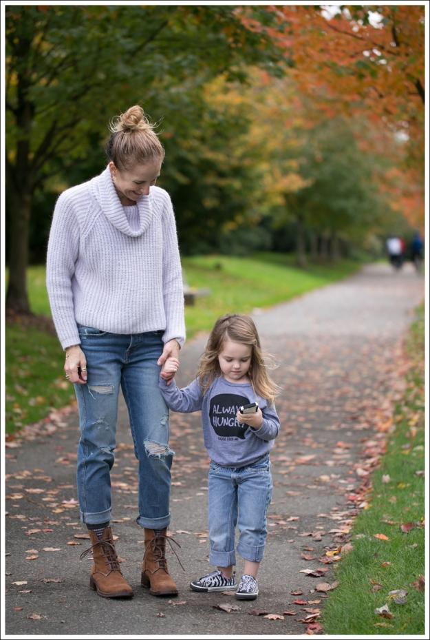 Blog Zara Lilac Chunky Knit Turtleneck Genetic Masen Ex Boyfriend Lace Up boots-5