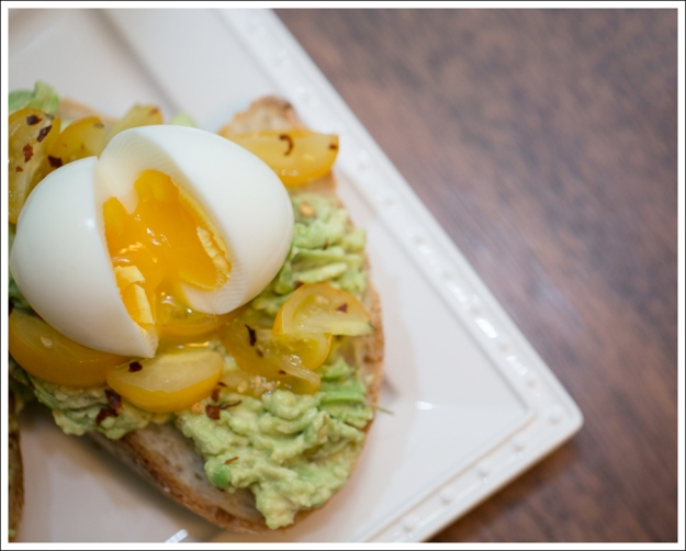 Blog Avocado Toast with Soft Boiled Egg and Tomatos-1