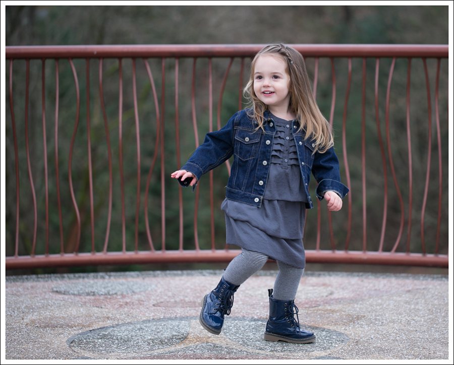 Blog Baby Gap Jean Jacket Gray Dress Link Boots-3