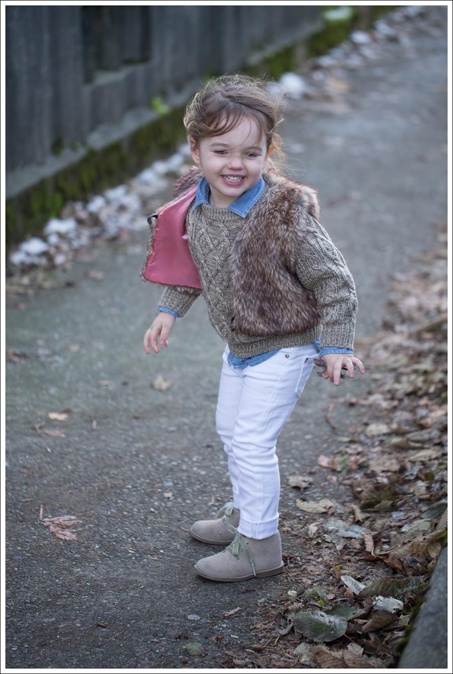 Blog Faux Fur Vest DL1961 Chloe Whiteley-2