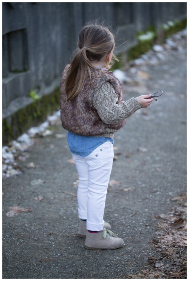 Blog Faux Fur Vest DL1961 Chloe Whiteley-4
