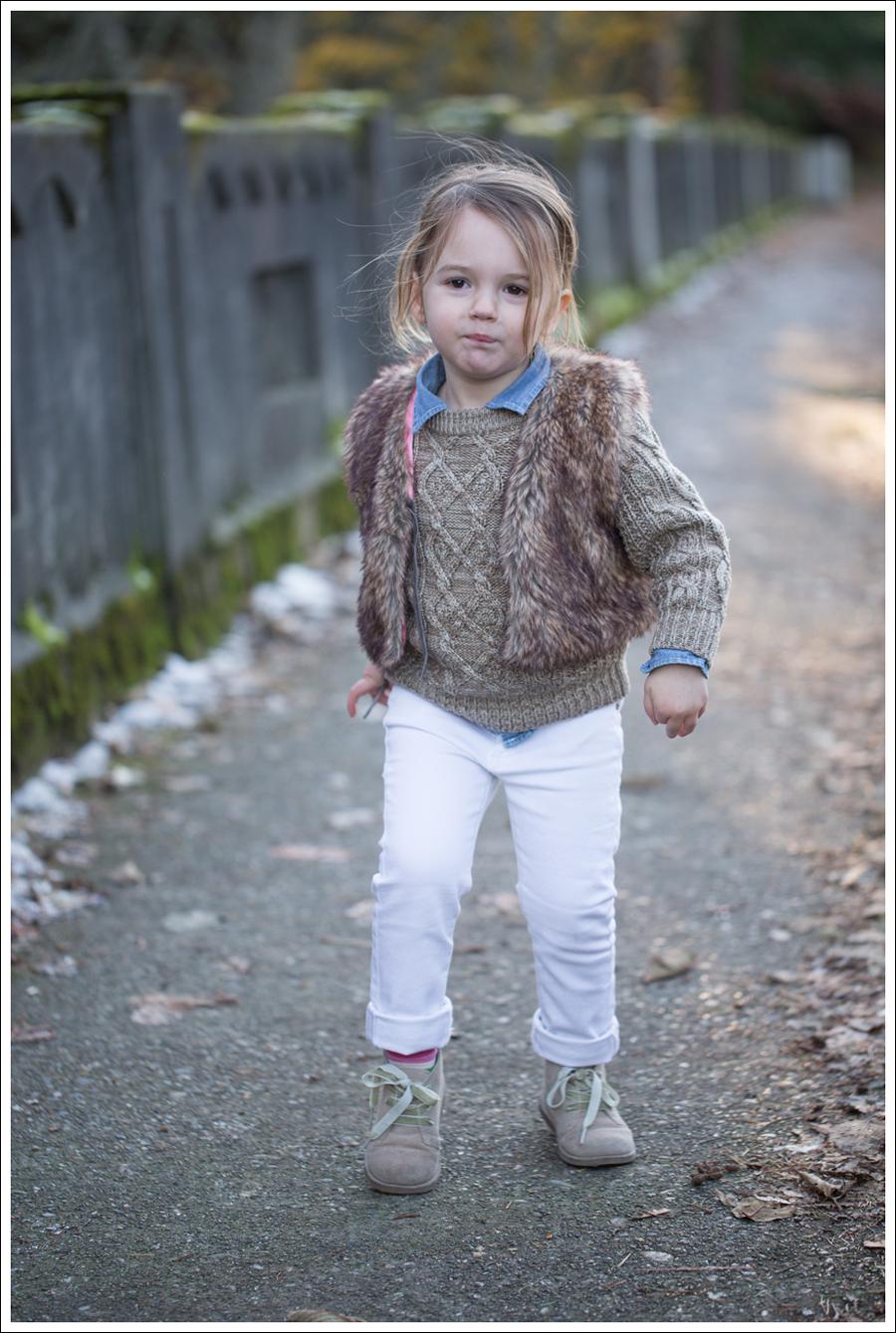 Blog Faux Fur Vest DL1961 Chloe Whiteley-7