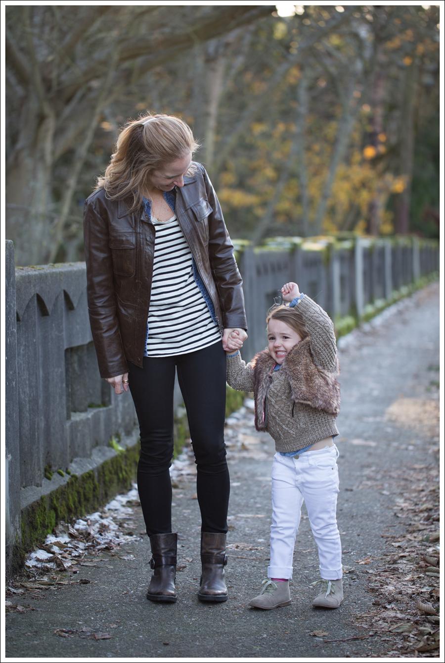 Blog Leather Jacket Gap Jean Shirt StyleMint DL1961 Emma Riker Cafe Noire Booties-6