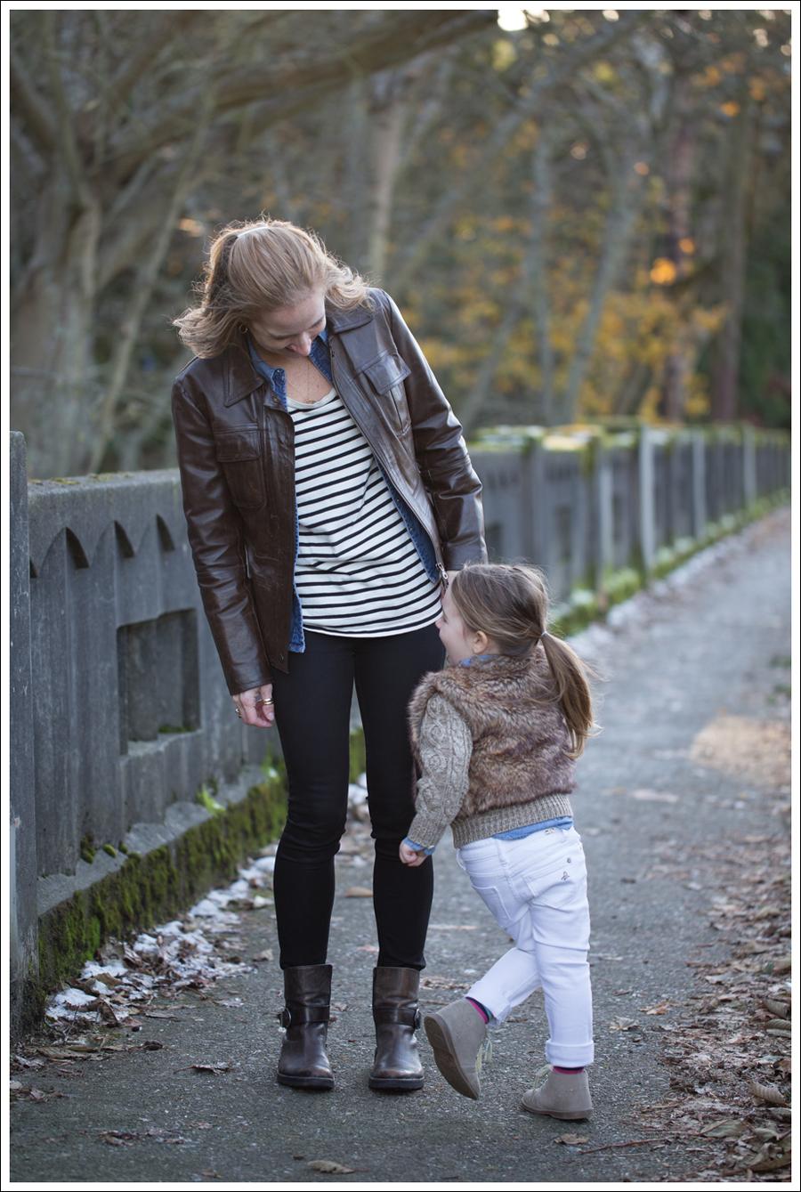 Blog Leather Jacket Gap Jean Shirt StyleMint DL1961 Emma Riker Cafe Noire Booties-7