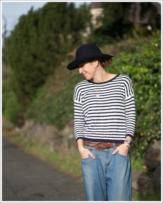 Blog Nordstrom Hat StyleMint Nicholas Sweater Rag and Bone Boyfriend Jeans Leopard Flats-2