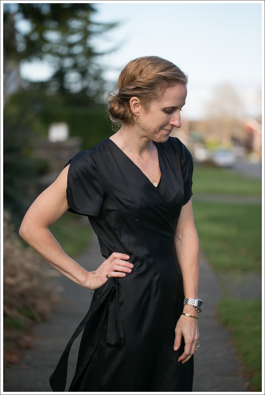 Blog Rhyme Black Wrap Dress Day to Night-23