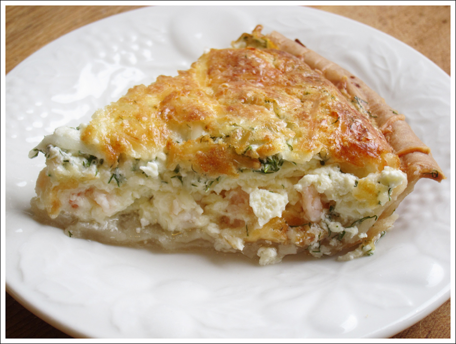 Blog scandiavian shrimp pie