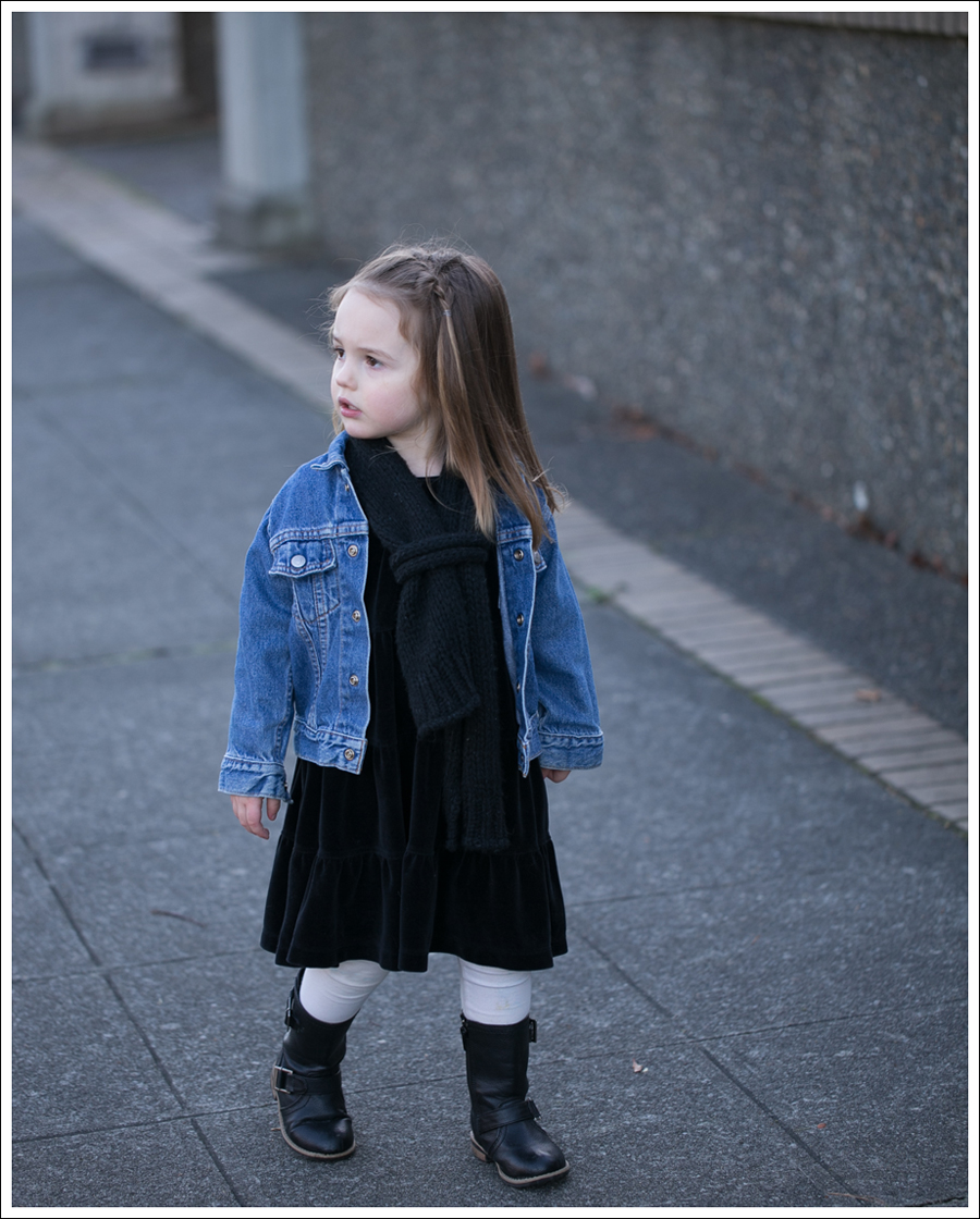 Blog Toddlers Levis Jacket Hanna Black Dress Xhiliration Moto Boots-1
