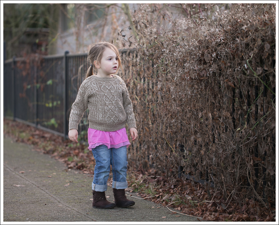 Blog Brown Fishermans Sweater Naartjie Pink Tunic Joe's Jeans Boyfriend Self Esteem Booties-6