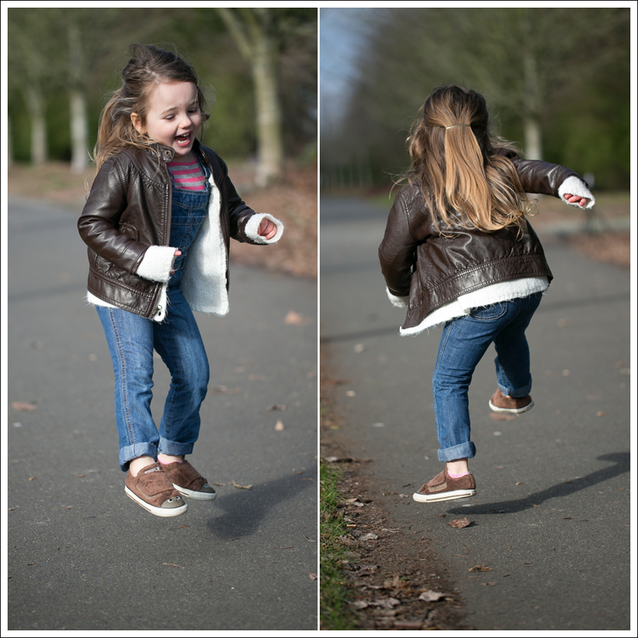 Blog Circo Faux Leather Old Navy Cardigan Overalls GapKids Tee Fuzzy Puppy Converse-2