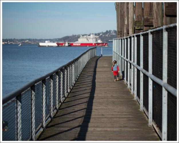 Blog Gap Denim Vest HM Red Zip Dress Levis Jeggings Sven Mary Jane Toddler Clogs-1