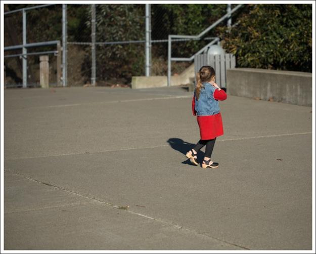 Blog Gap Denim Vest HM Red Zip Dress Levis Jeggings Sven Mary Jane Toddler Clogs-5
