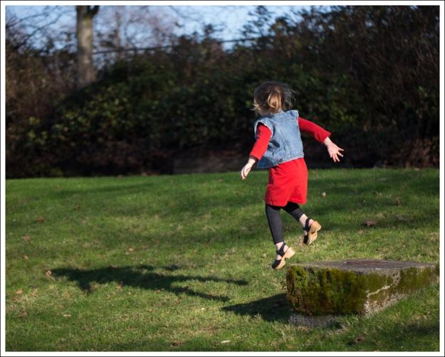 Blog Gap Denim Vest HM Red Zip Dress Levis Jeggings Sven Mary Jane Toddler Clogs-8