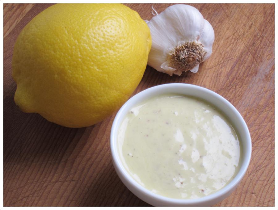 Creamy Lemon Garlic Paleo Dressing