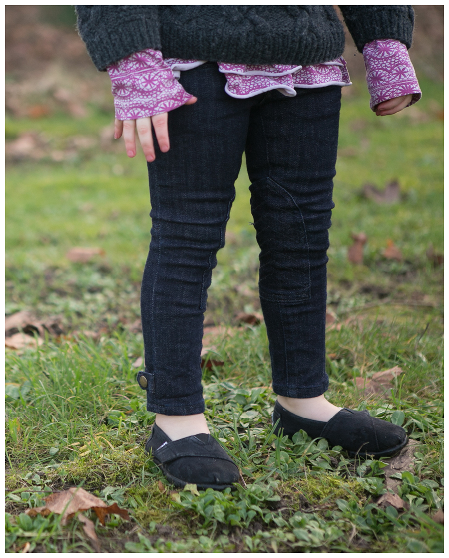 Blog Gray GapKids Fishermans Sweater Naartjie Pink Top Ralph Lauren Moto Jeans Black Toms-1
