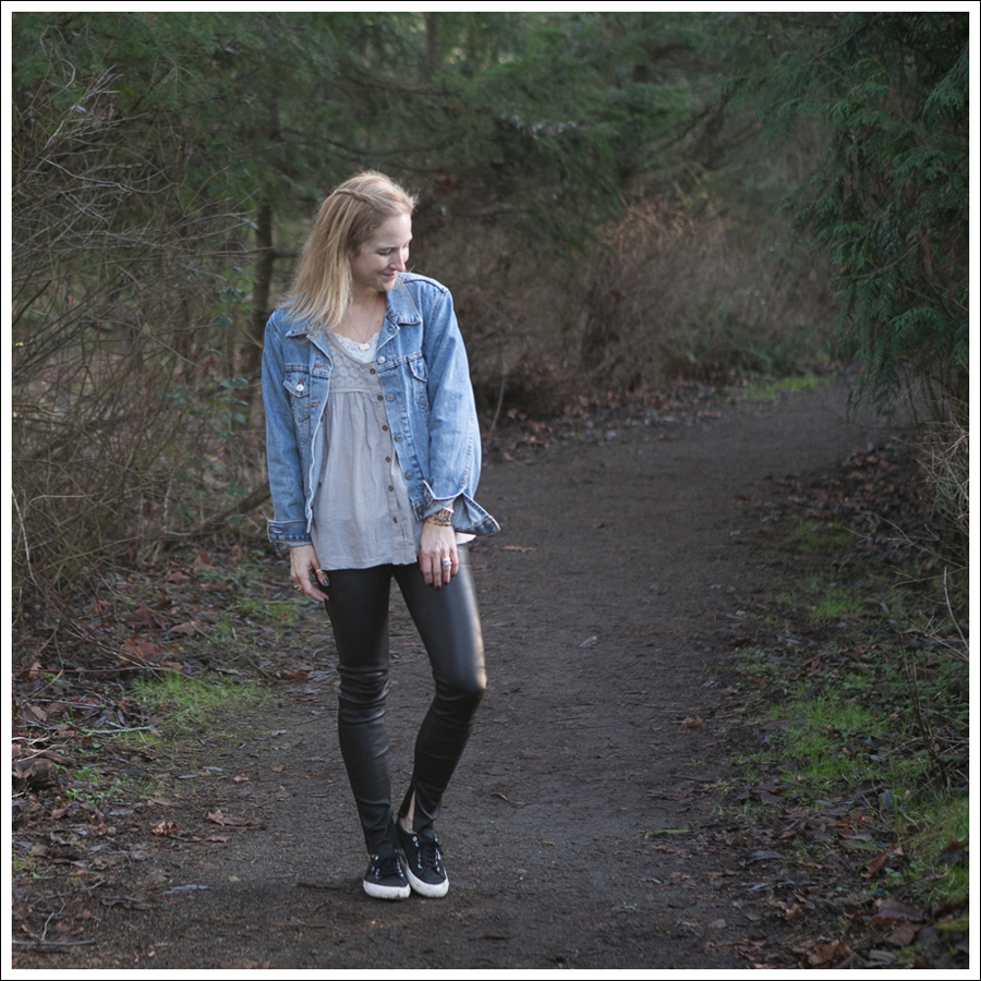 Blog Levis Jacket Free People two to tango Top Genetic Shya Leather Pants Superga-1