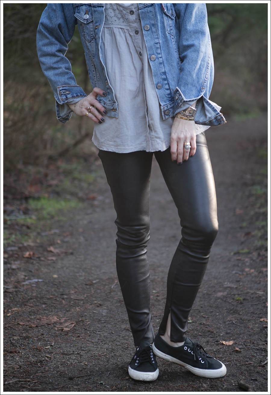 Blog Levis Jacket Free People two to tango Top Genetic Shya Leather Pants Superga-2