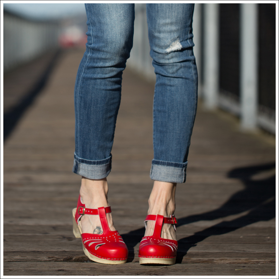 Blog See by Chloe White Boho Vince destroyed Skinny Jeans Sven Lacy Clog-3-