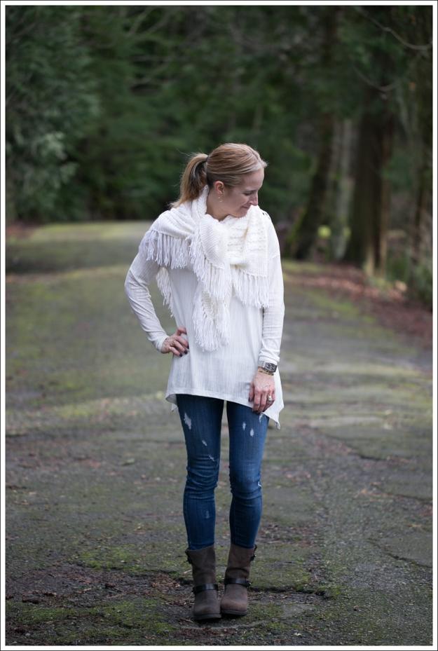 Blog Zara Hankerchief Tee Genetic Denim The Twig Rag and Bone Moto Boots-1