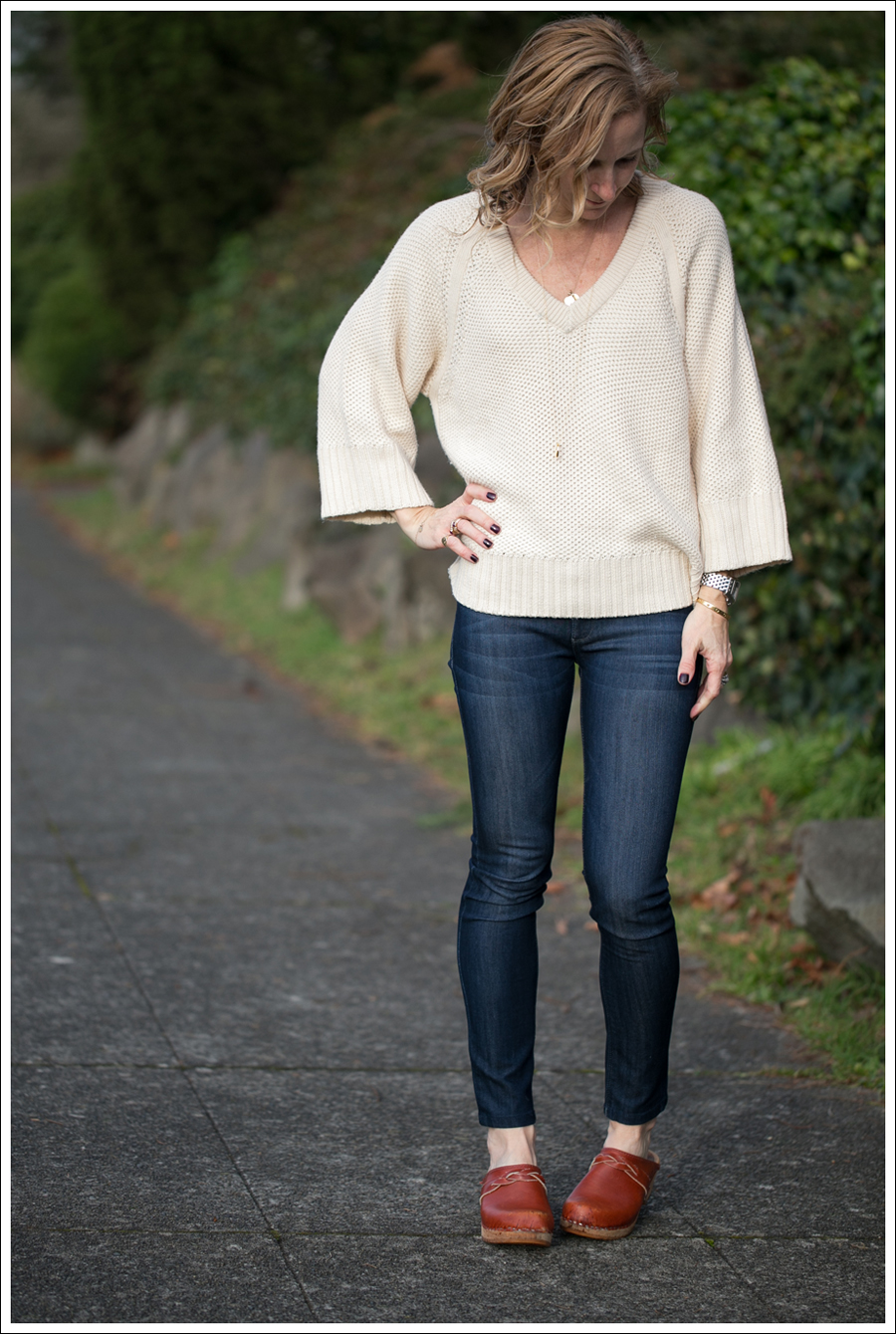 Blog Zara Sweater DL1961 Emma Bloom Vintage Holje Clogs-1
