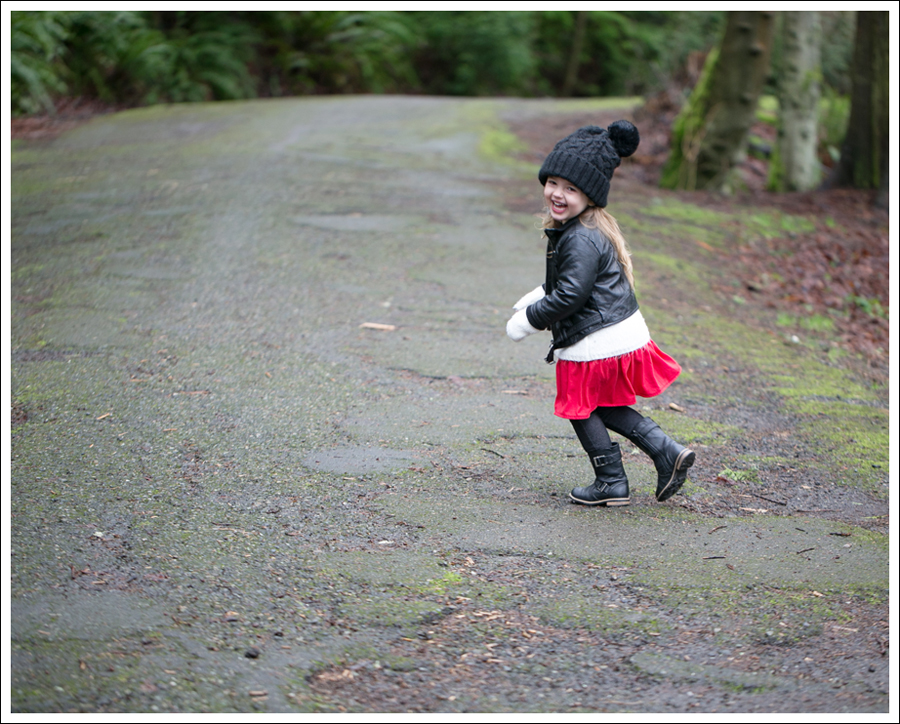 Blog Amy Coe Faux Leather Jacket Old Navy Cardigan GapKids Dress Levis Jeggings Xhiliration Moto Boots-3