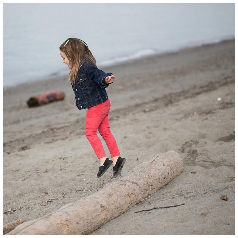 Blog GapKids Denim Jacket Gymboree Cardigan Hudson Kids Skinny Jeans Black Toms-5