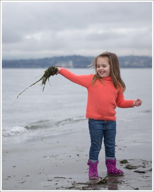 Blog HandKnit Coral Sweater DL1961 Harper Bogs Purple Flower Toddler Boots-13