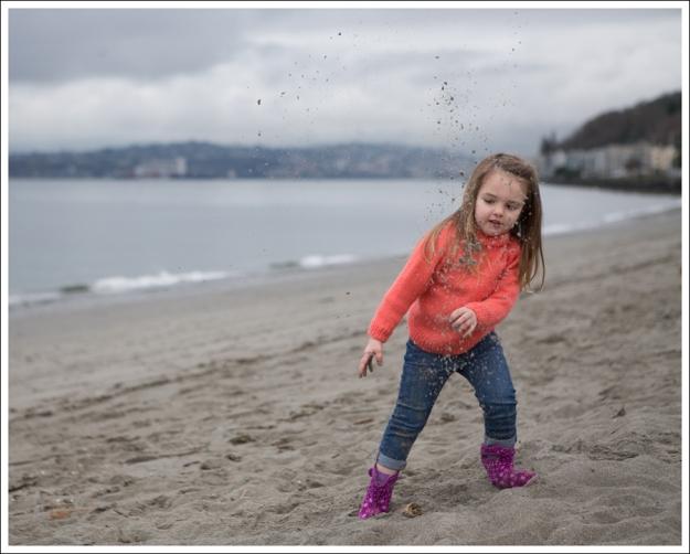 Blog HandKnit Coral Sweater DL1961 Harper Bogs Purple Flower Toddler Boots-4