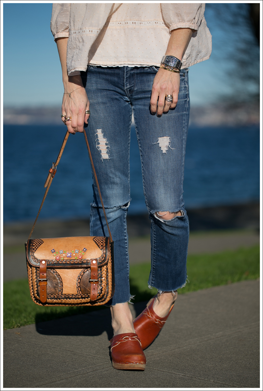 Blog hm conscious collection top 7 FAM DIY destroyed Straight Leg Jeans Vintage Clogs-2