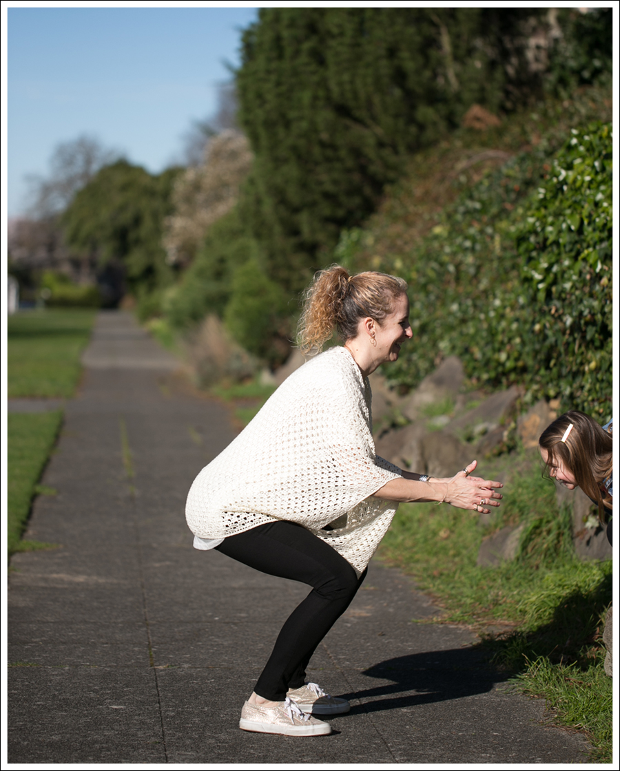 Blog Lily McNeal Open Knit Crochet Cardigan UO Corner Shop Tee DL1961 Emma Riker Gold Superga-5