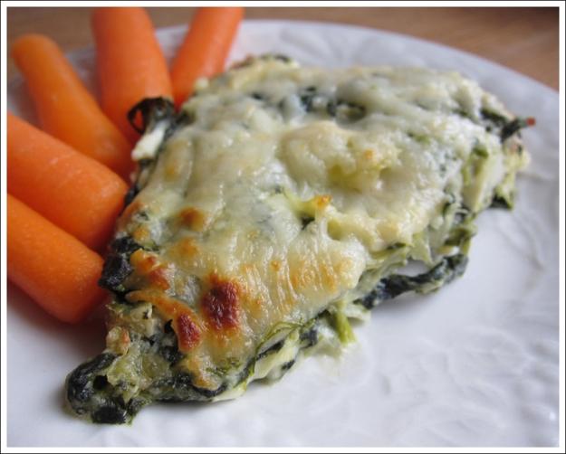 Blog spinach bacon dip