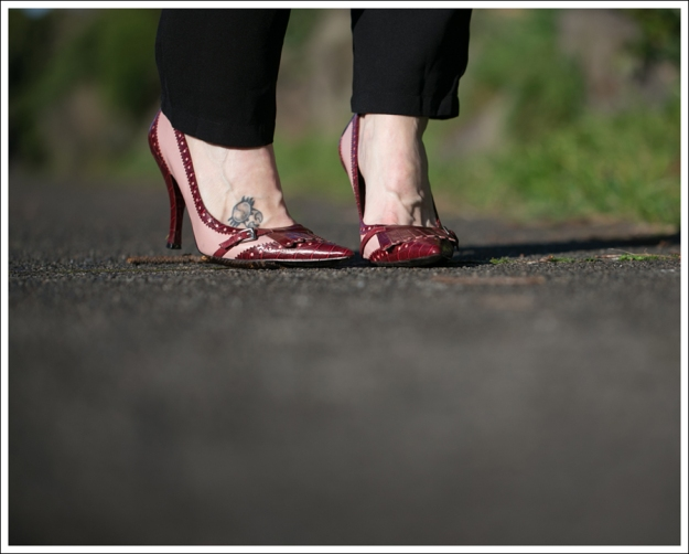 Blog The Fifth Label Drop-Crotch Jumpsuit Nine West Two Toned Pink Pumps-3
