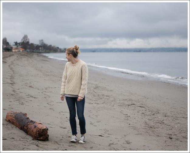 Blog Vintage Fishermans Sweater Paige Skyline Ankle Peg Lorelei Black Converse-1