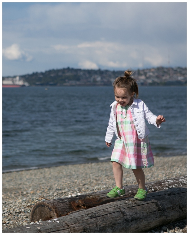 Blog GapKids White Denim Jacket Janie and Jack Plaid Dress Green Saucony Toddler Shoes-9