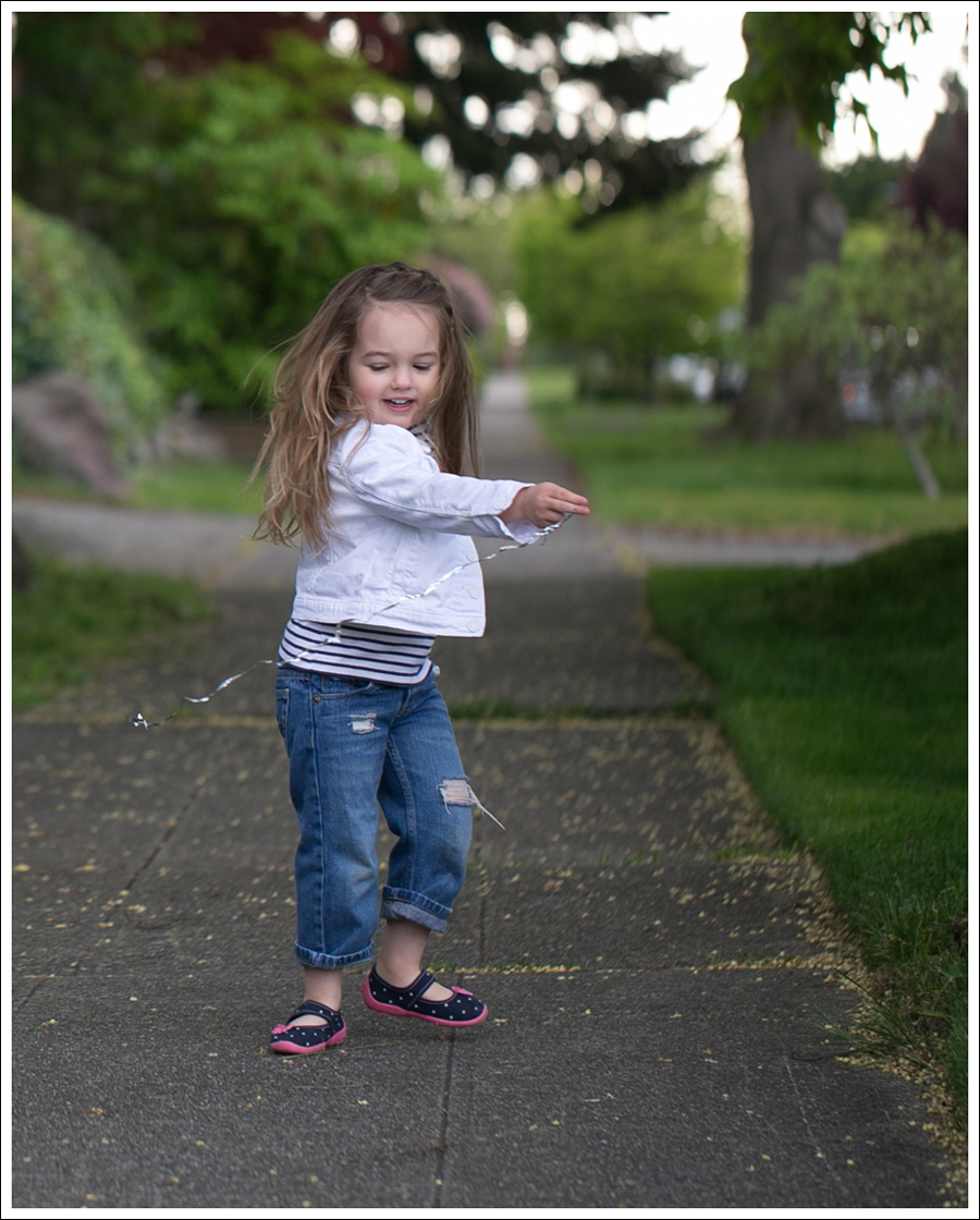 Blog Gapkids White Denim Jacket Mini Boden Striped tee DIY ripped Levis KK Canvas Slippers-3