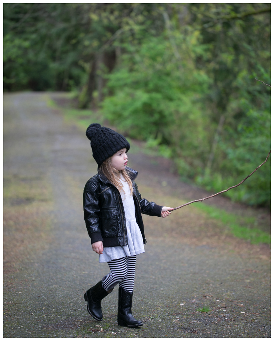 Blog HM Hat Faux Leather Jacket Crewcuts Dress Gapkids Striped Leggings Nordstrom Toddler Cowboy Boots-1