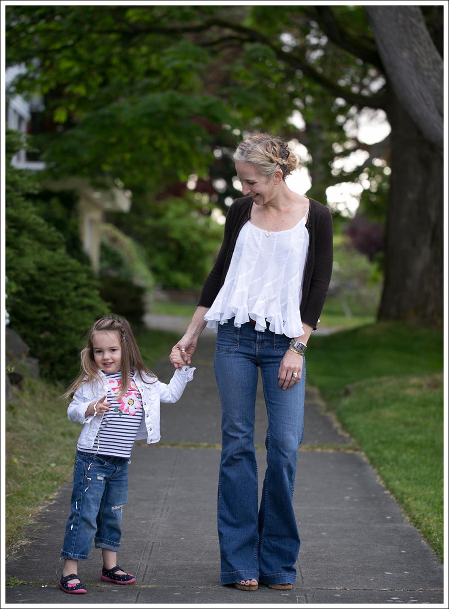 Blog Velvet Cashmere Cardi Ana Nonza Top J Brand Bette High Waist Flare Jeans-4