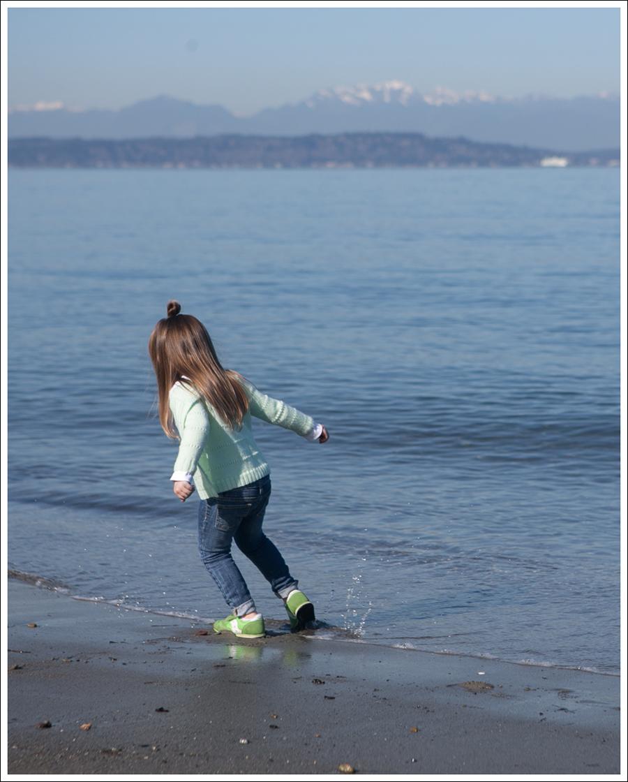 Blog Vintage HandKnit Cardigan Joes Jeans Skinny Lime Toddler Saucony Sneakers-6