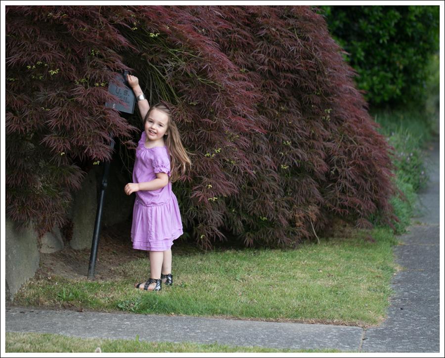 Blog CrewCuts Lavender Silk Drop Waist Dress Link Gladiator Studded Sandals-1