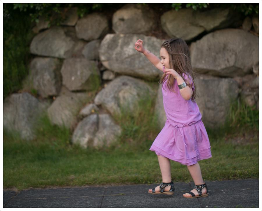 Blog CrewCuts Lavender Silk Drop Waist Dress Link Gladiator Studded Sandals-5