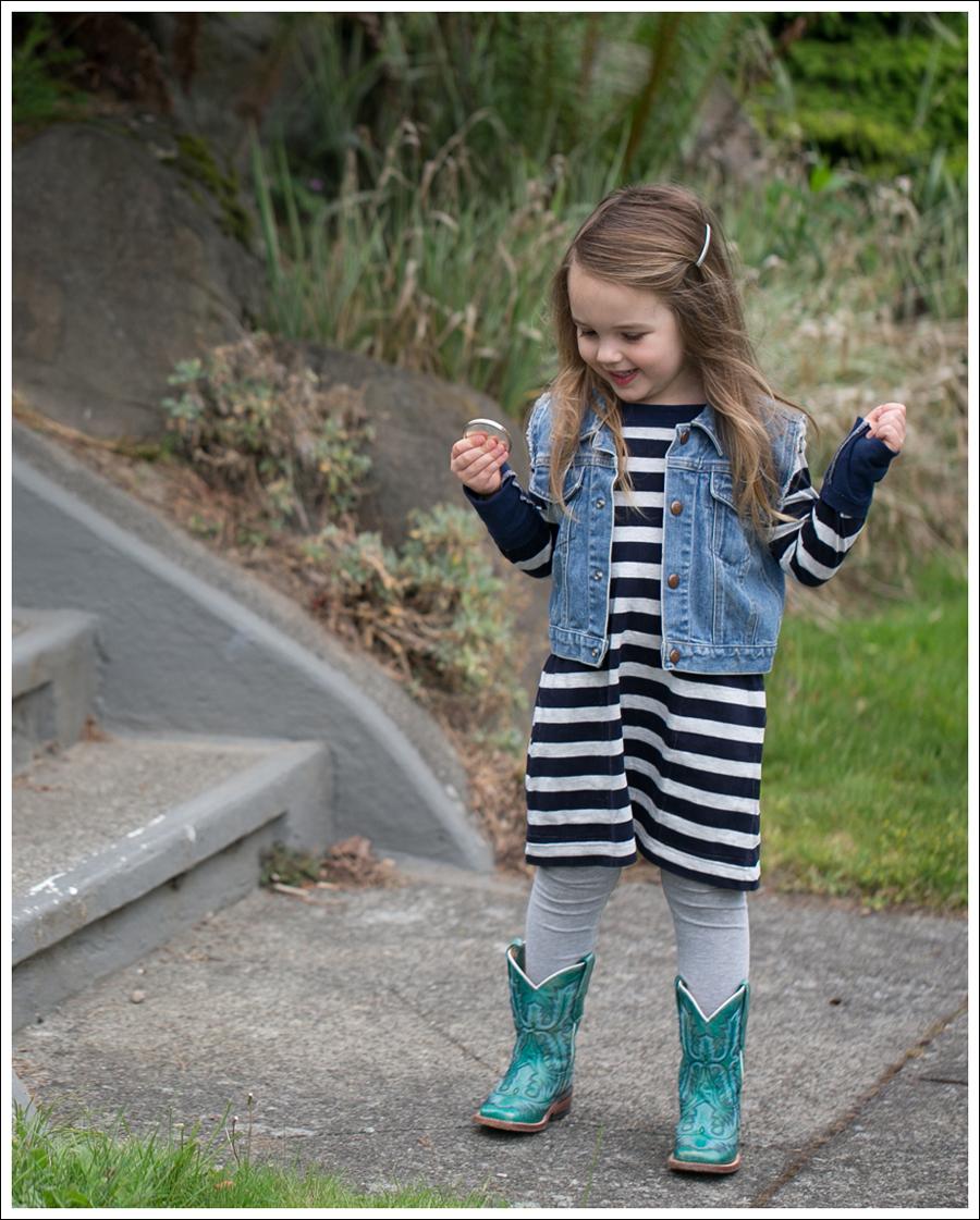 Blog GapKids Denim Vest CrewCuts Striped Tunic Old Navy Leggigs Corral Toddler Square Toe Cowboy Boots-1