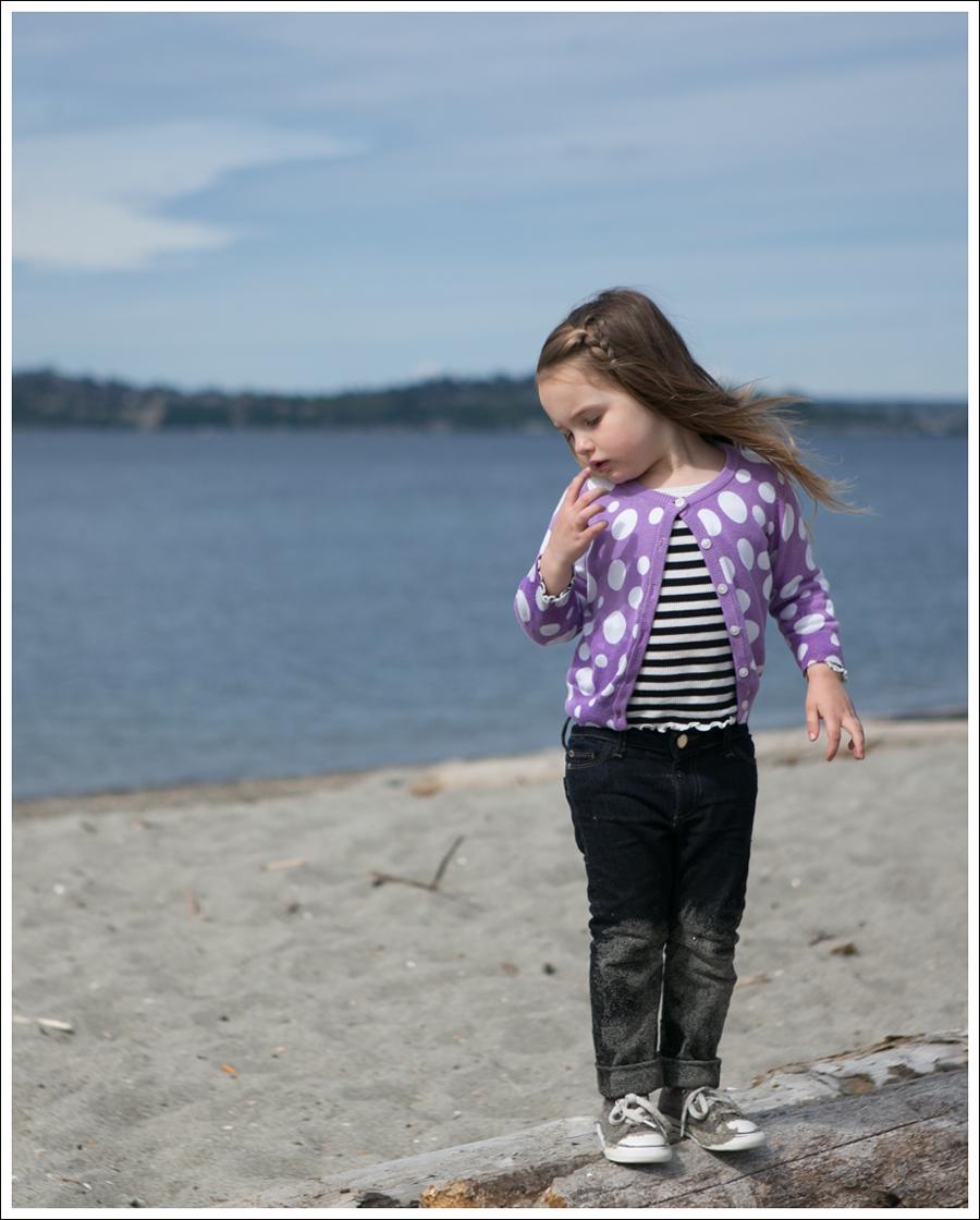 Blog Hanna Andersson Cardigan GapKids Striped Tee DL1961 Chloe Rafaeli Purple Converse-8