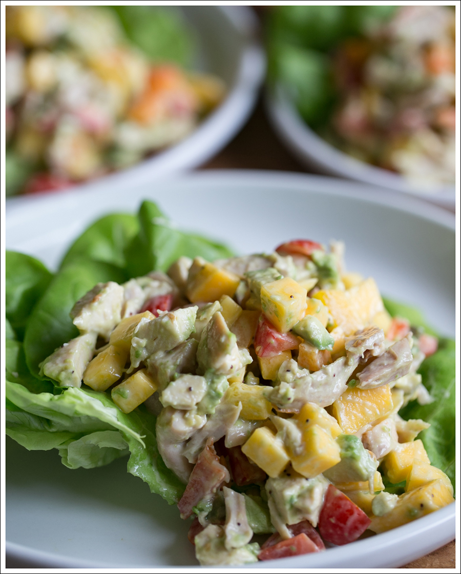 Blog Paleo Mango Avocado Chicken Salad-2