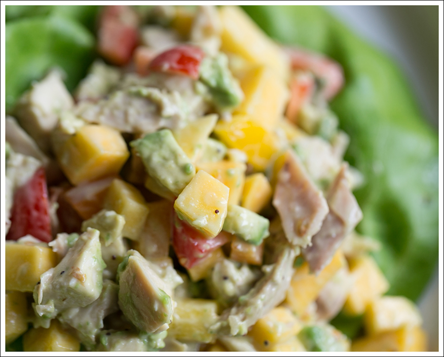 Blog Paleo Mango Avocado Chicken Salad-3