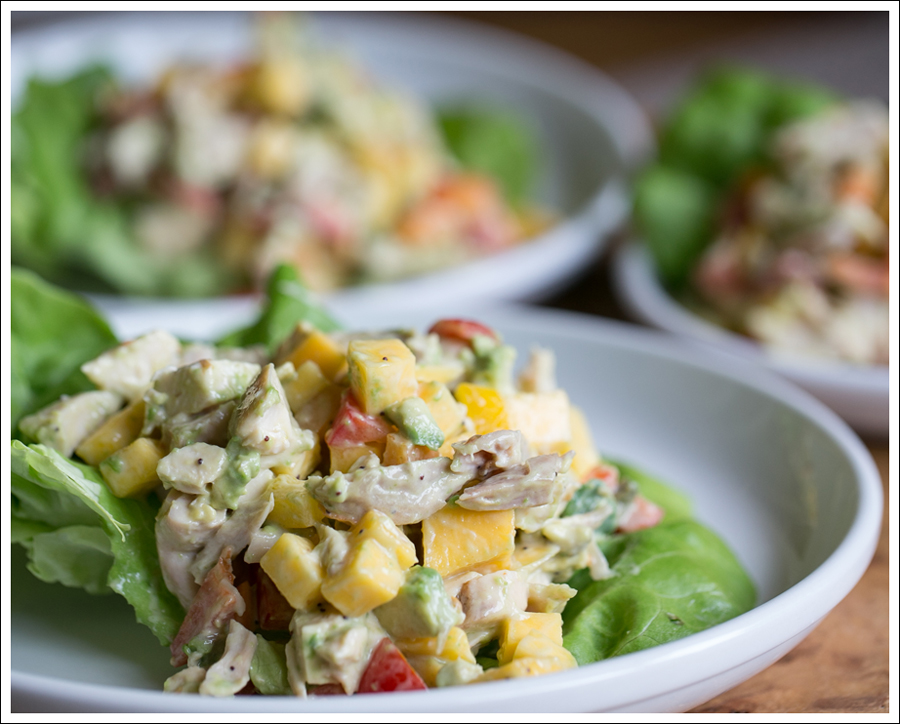 Blog Paleo Mango Avocado Chicken Salad-4