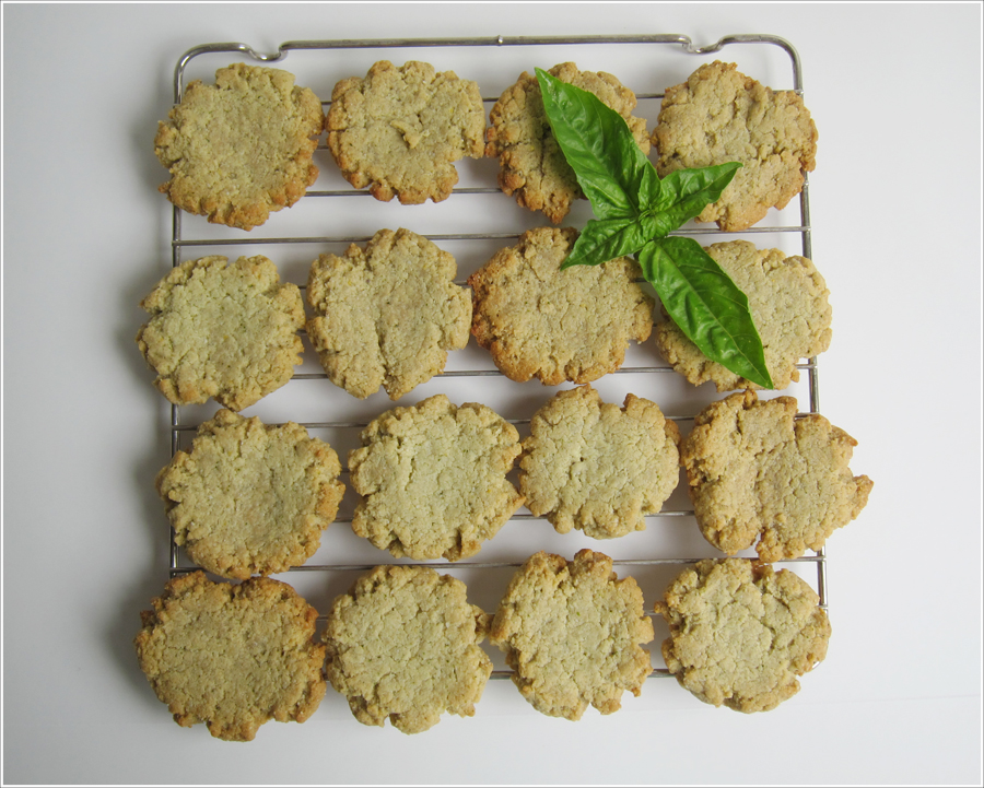 Blog Basil lemon paleo cookies-1