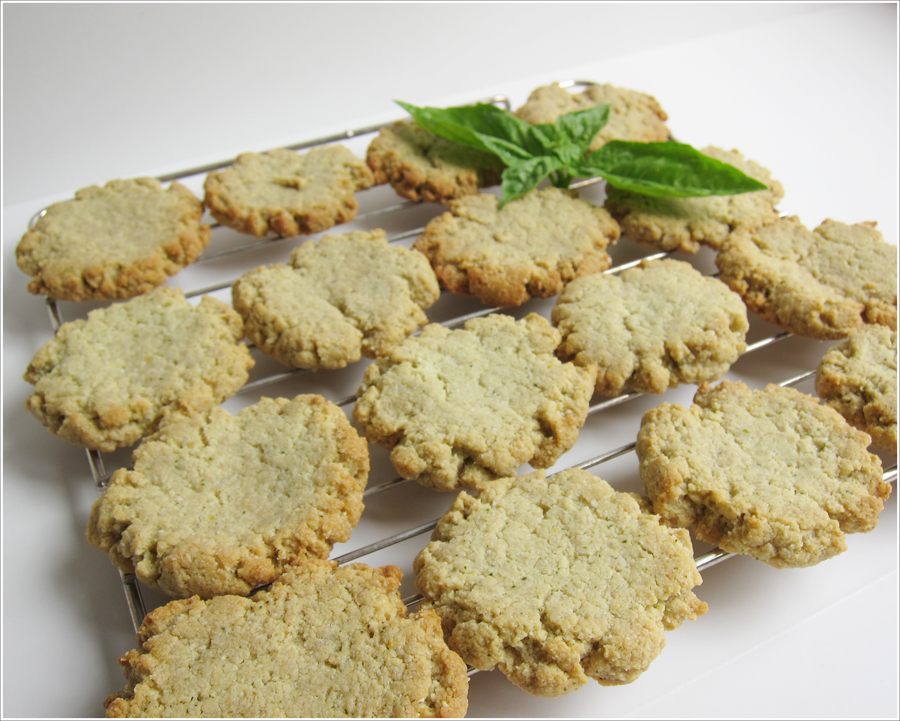 Blog Basil lemon paleo cookies-2