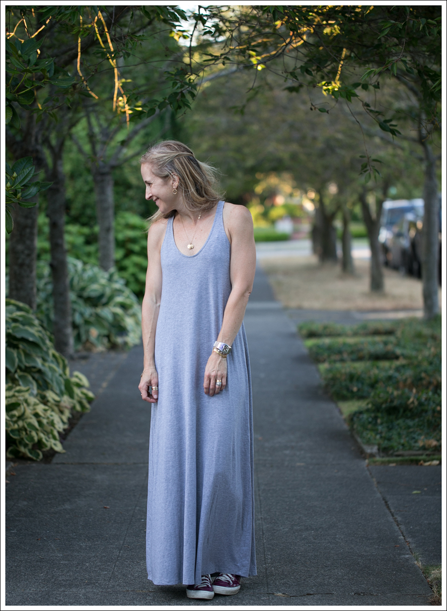 Blog Gray Splendid Racerback Maxi Dress Pink Patent Leather Converse-3