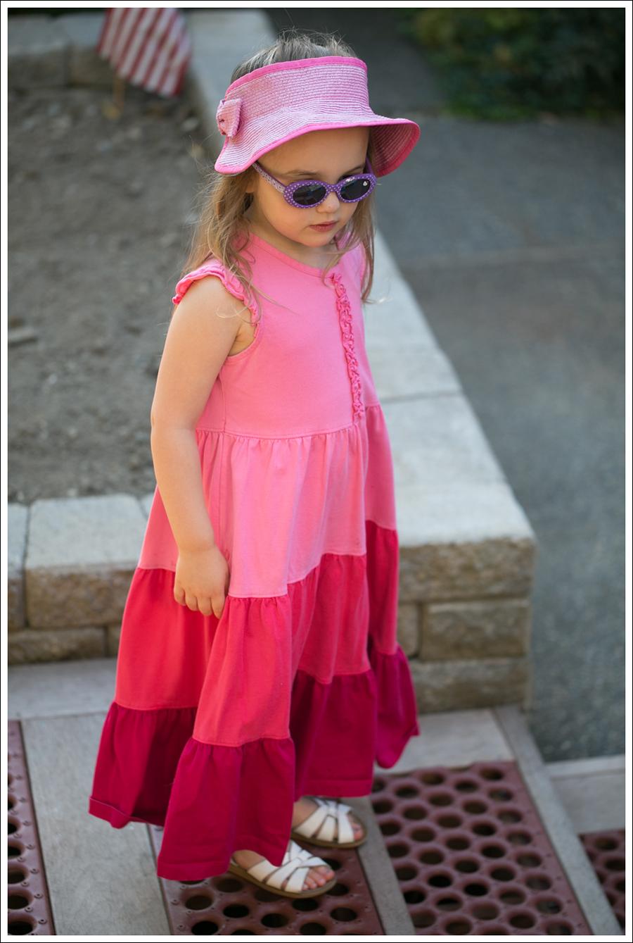Blog Hanna Andersson Pink Twirl Dress White Saltwater Sandals-1