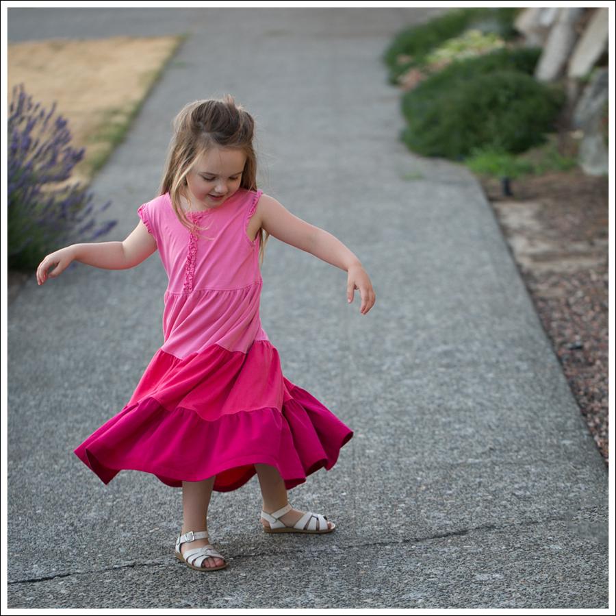 Blog Hanna Andersson Pink Twirl Dress White Saltwater Sandals-4
